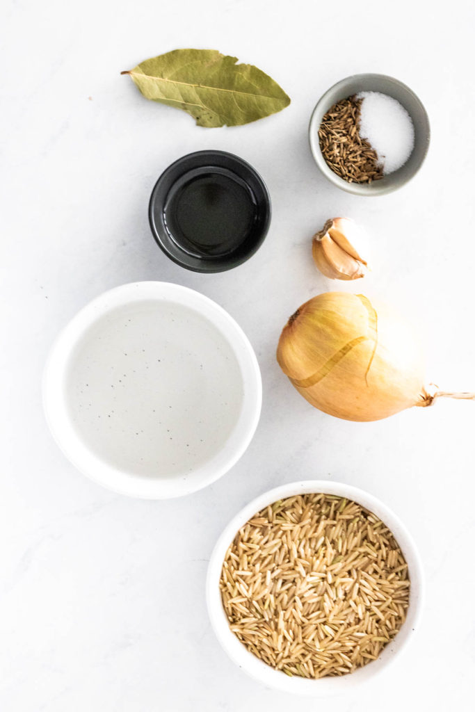 ingredients for instant pot brown rice
