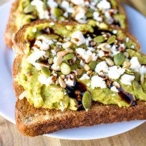 avocado toast breakfast recipe