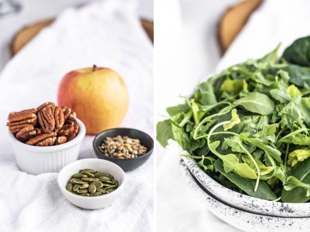 spinach salad ingredients