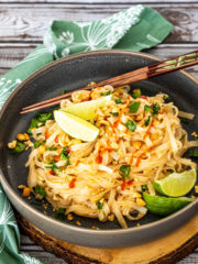 pad thai takeout at home recipe