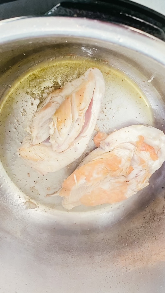 Searing chicken in the instant pot